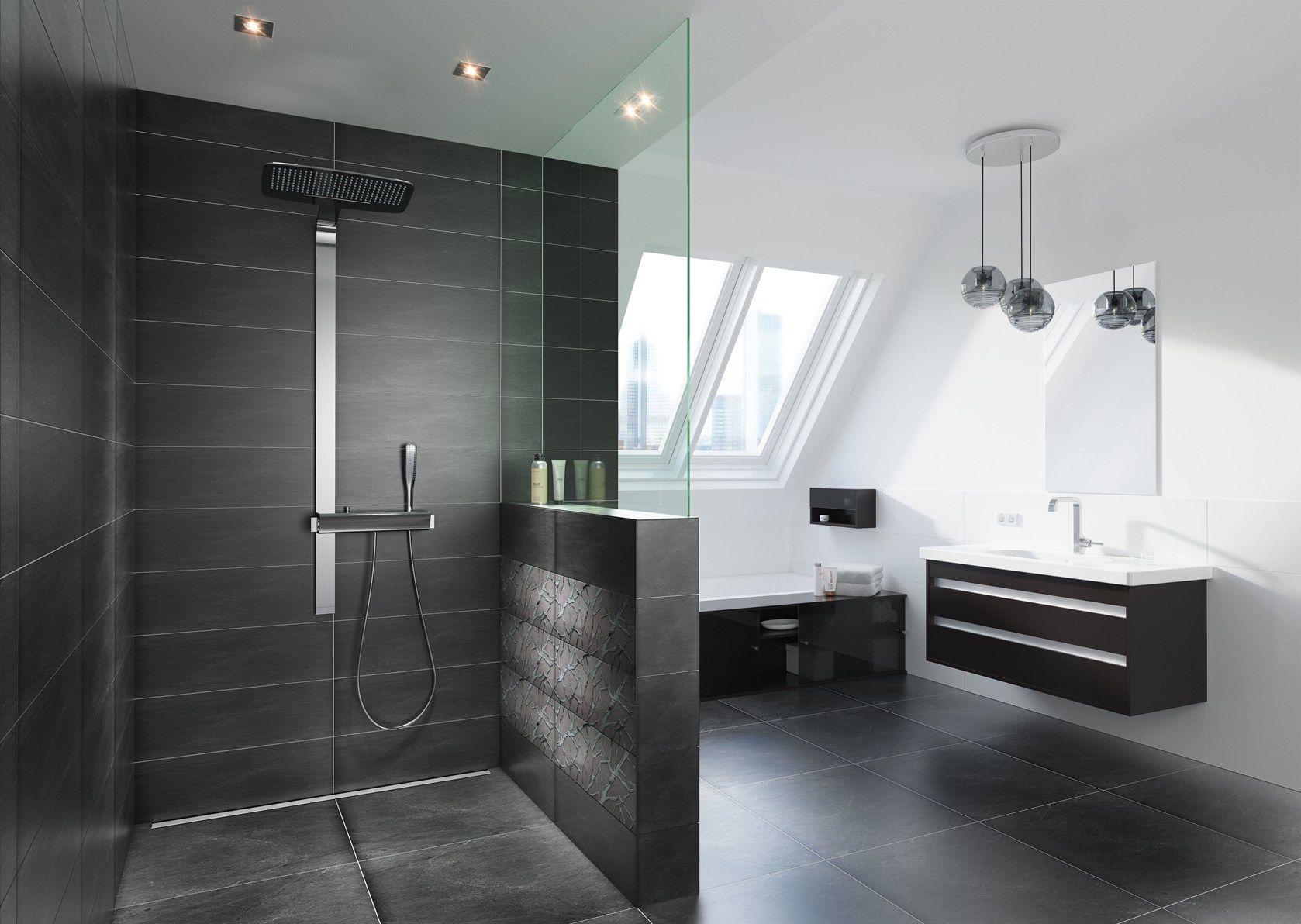 Vasca Da Bagno Filo Pavimento : Bagno con doccia a pavimento bagno con doccia a pavimento bagno