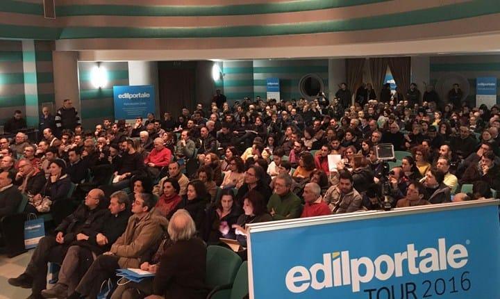 Edilportale Tour 2016, 700 tecnici ieri a Cosenza