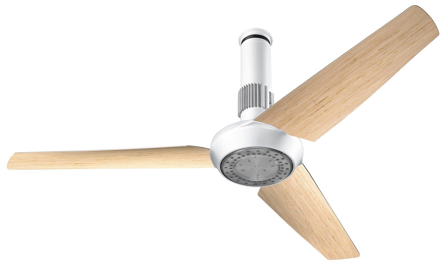 Vortice Lampadari A Pale.Ventilatore Da Soffitto Vortice Bianco A Moderno Di Design Con Pale Luce Lampada Ventilatori A Soffitto Elettrodomestici Cumpardeacasa Com