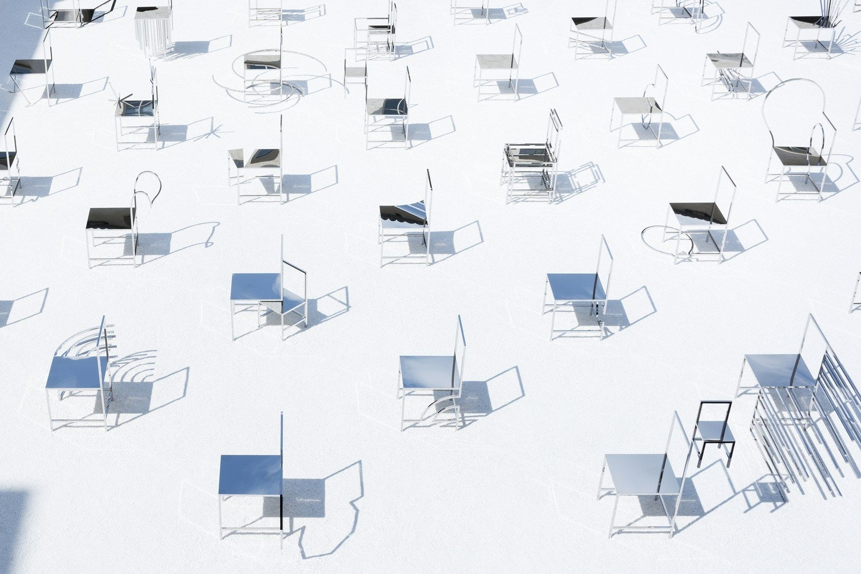 Charmant 50 Manga Chairs   Photo By Takumi Ota