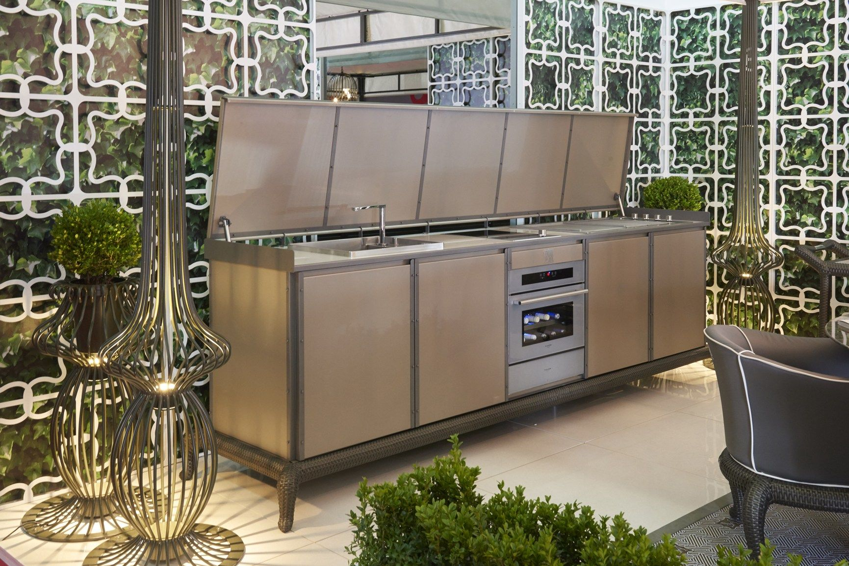 Le cucine per esterno Samuele Mazza Outdoor Collection