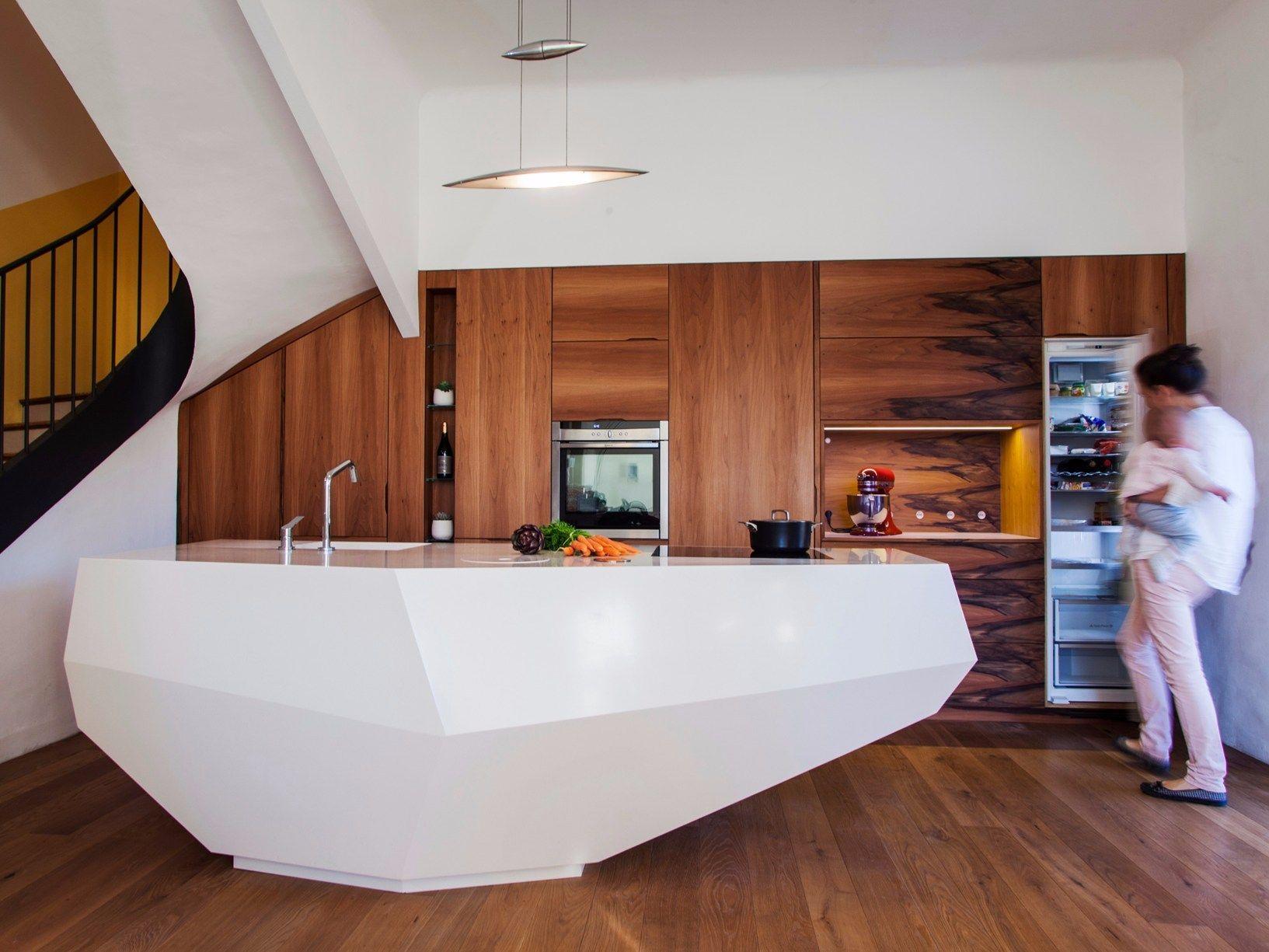 """Le Baou"""": Ein Fels in der Küche – eine außergewöhnliche Kochinsel ..."""