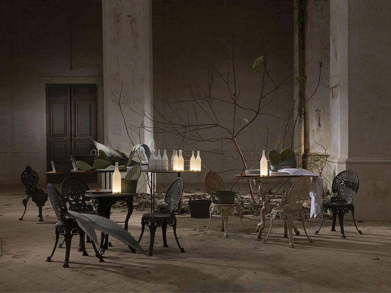 la lampada da tavolo ricaricabile karman - Bacco Arredo Bagno