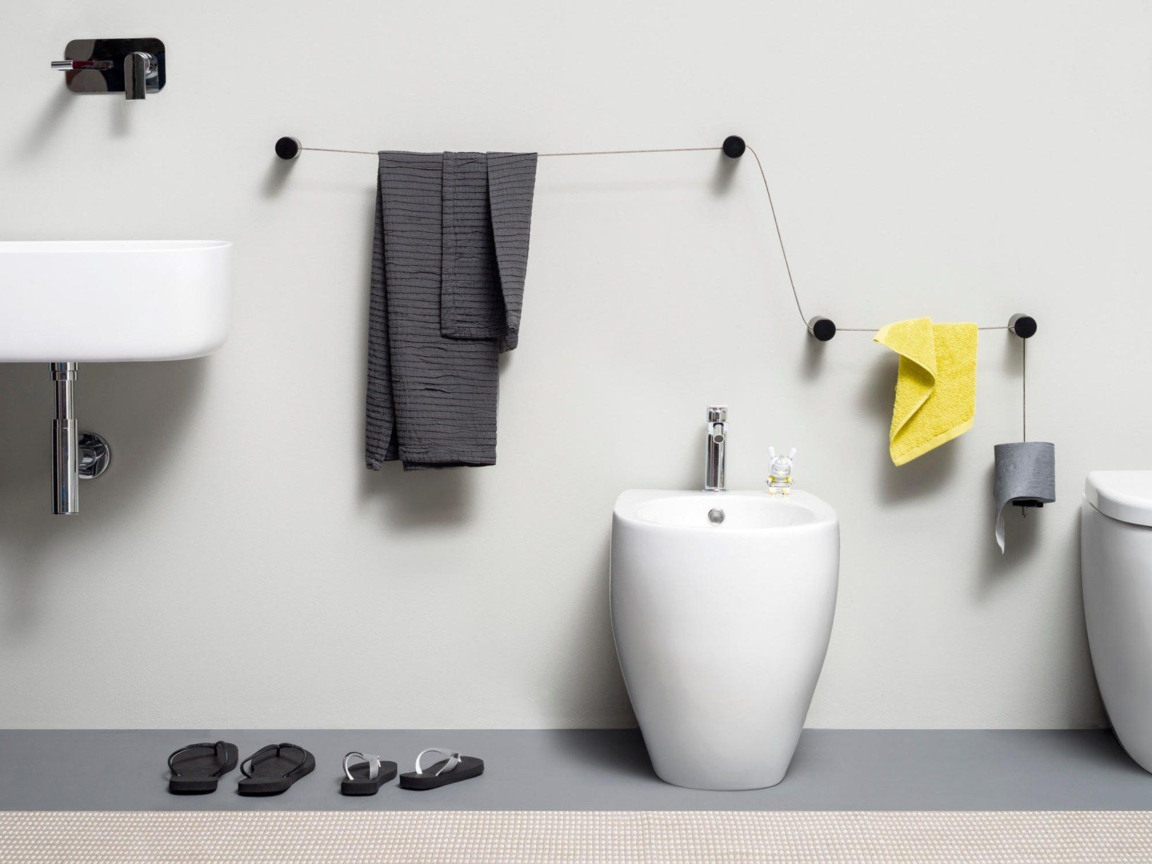 New bathroom accessories designed by Monica Graffeo