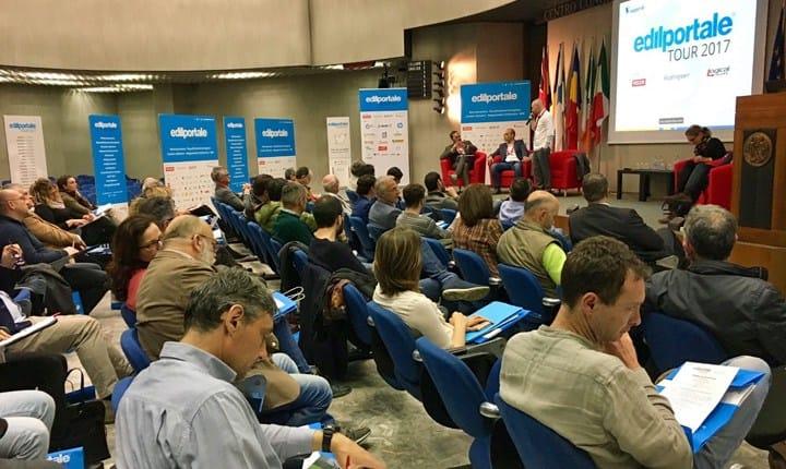 Involucro edilizio e antisismica nella tappa Perugia di Edilportale Tour 2017