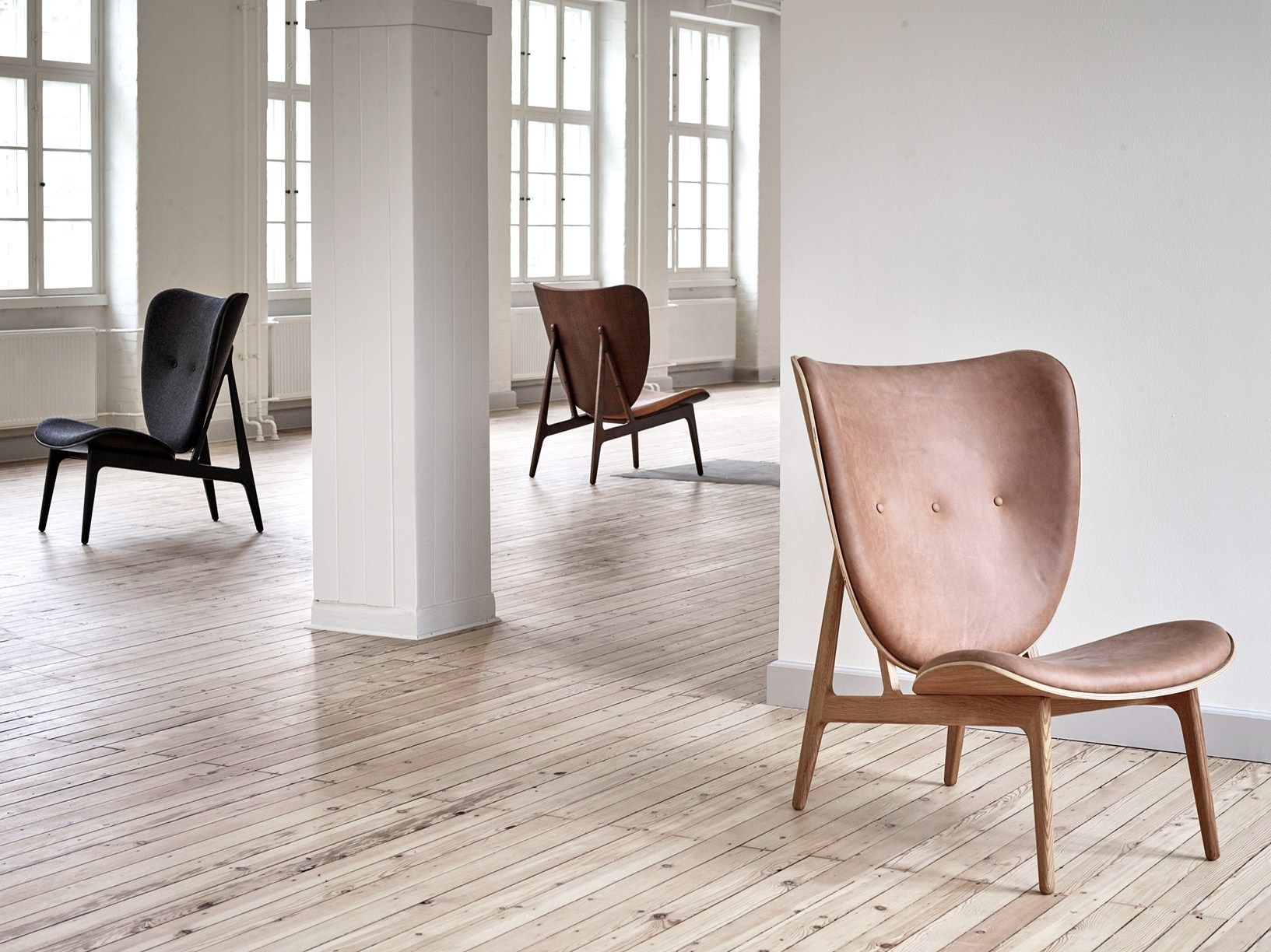 Chair Japanese aesthetic meets Scandinavian design