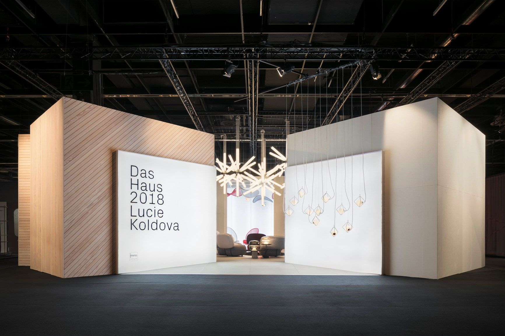 Imm Cologne 2018: The Das Haus By Lucie Koldova