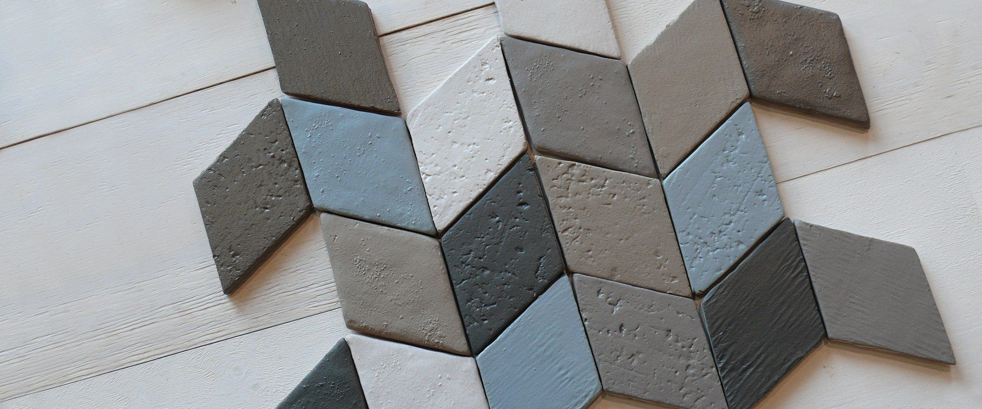 Ceramic Tiles Inspired By The Surfaces And The Colors Of The Ancient