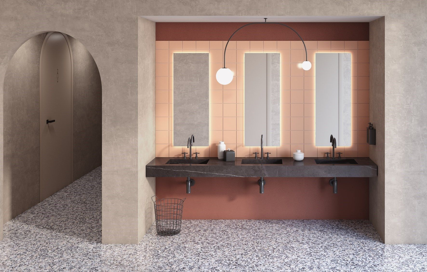 Fiora Salle De Bain colors, textures and materials. fiora at cersaie