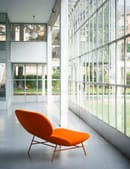 Pure colors and organic shapes for Kelly Collection by Tacchini