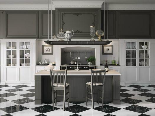 "Minacciolo presents a new ""English Mood"" kitchen in brushed version"
