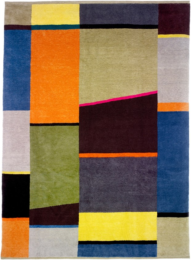 The new collection of rugs by Christopher Farr