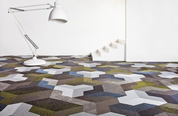 Bolon launches new studio tile Wing
