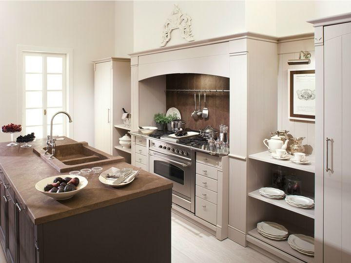 """Minacciolo presents a new """"English Mood"""" kitchen in brushed version"""