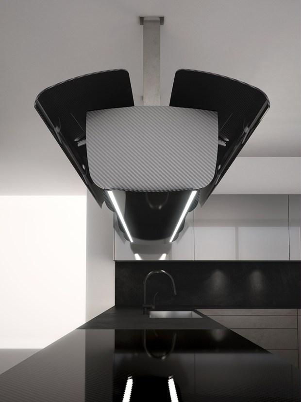 Invisibile, the new kitchen by Toncelli