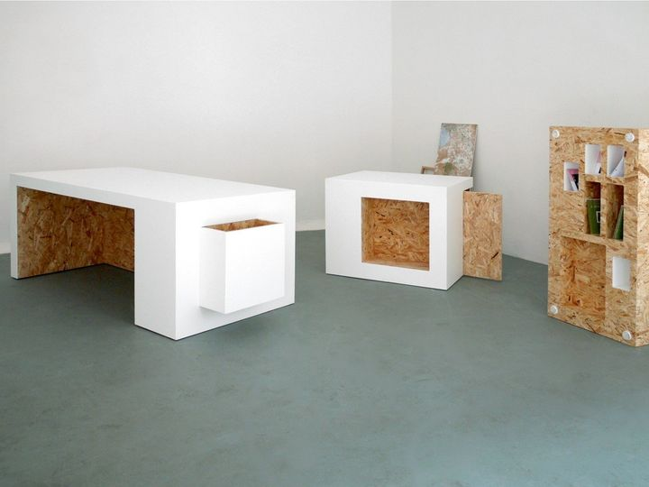 Versatile furniture Movable Archiproducts Solid Surface And Osb For Versatile Furniture Pieces