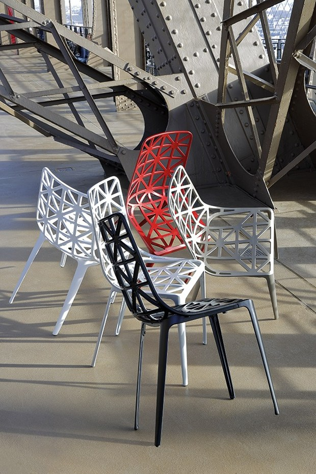 Craftsmanship And Industry Nouvelle Chaise Tour Eiffel By Coedition