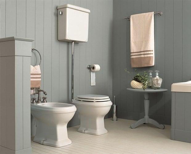 Minacciolo English Mood Bathroom – Dawn Blue finish