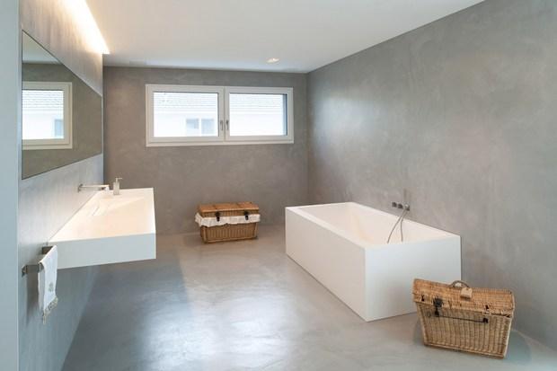 Farbkonzept Haus einfache linien, klare strukturen und schlichte körper. farbkonzept