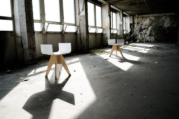 Tabouret + Stool + HI-MACS® + creativity = Taboustool