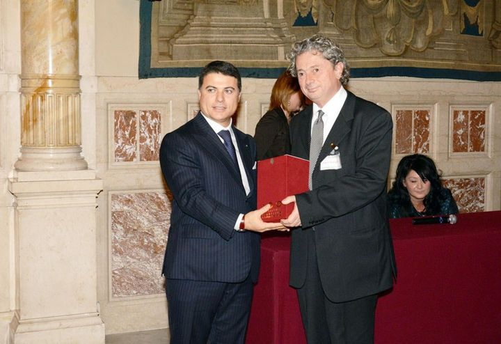 Oikos receives the prestigious '100 examples of Italian excellence' award