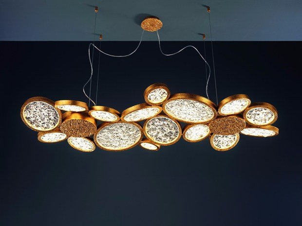 Nature inspired lighting Unique Handmade Serip Archiproducts Organic Lighting Chandeliers Inspired By Nature