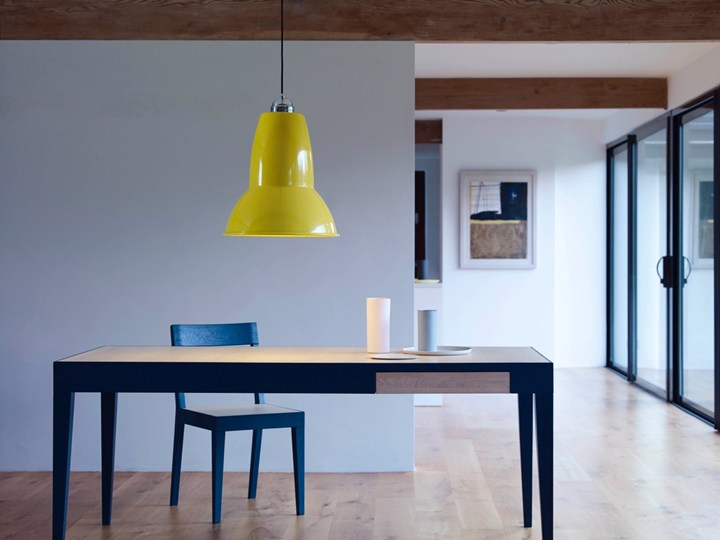 Anglepoise thinks big original 1227 giant pendant in citrus yellow aloadofball Gallery
