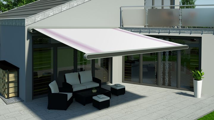 The patio awning MX-1 from markilux is among the winners of the reddot design award 2015