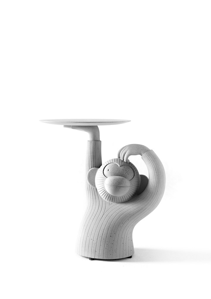 BD Barcelona, Gray Monkey Side Table