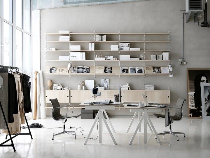 office freedom office desk large 180x90cm white. Office Freedom Desk Large 180x90cm White