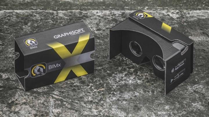 GRAPHISOFT: BIMx aumenta la realtà con il visore Google Cardboard