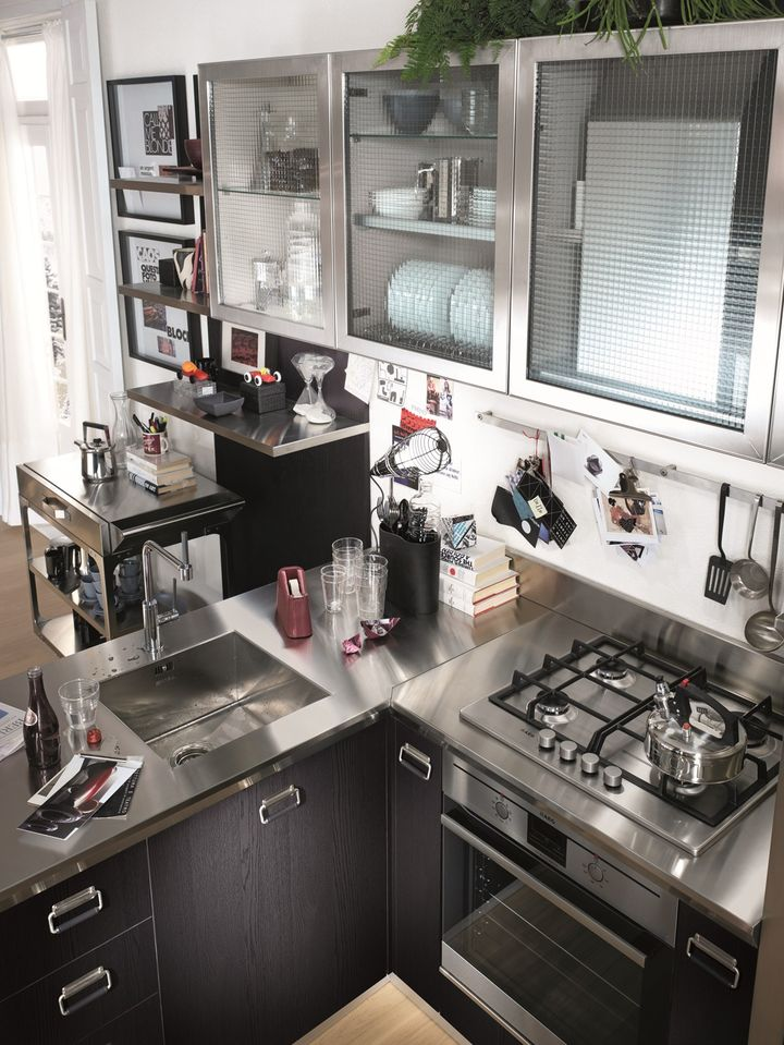 Diesel with Scavolini: the other side of the kitchen
