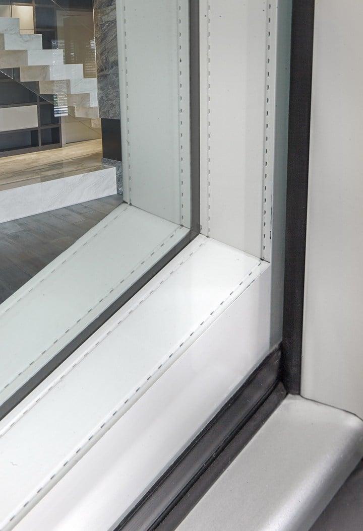 Ghost, la finestra tutto vetro di Italserramenti