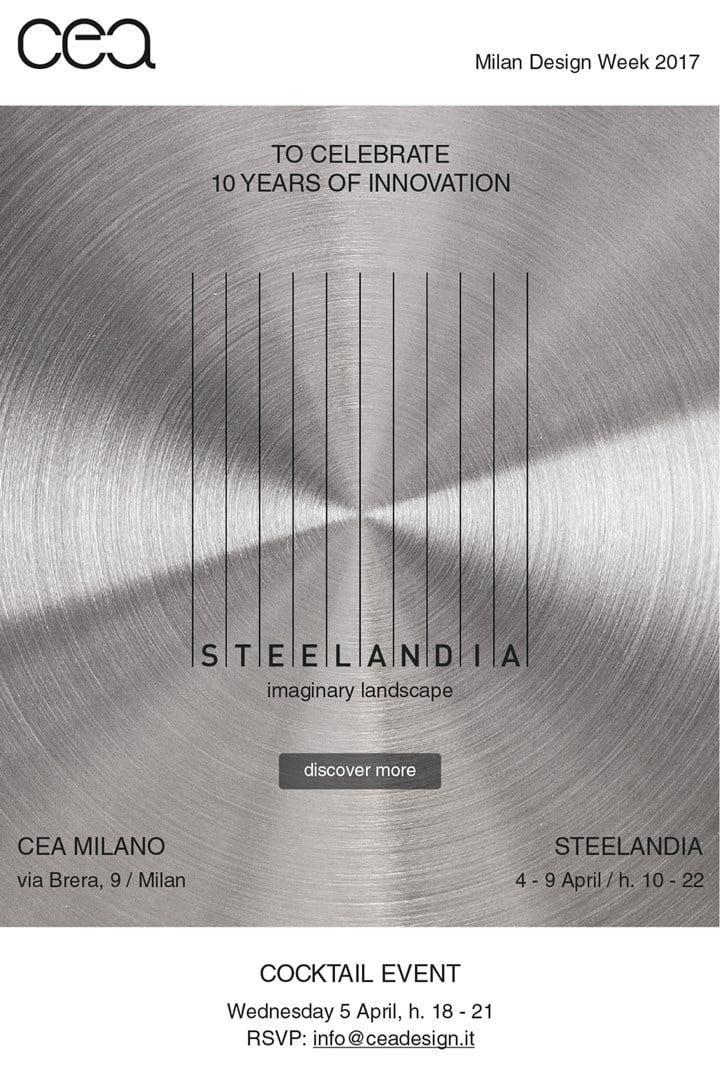 Cea Milano: Steelandia to celebrate CEA's 10 years