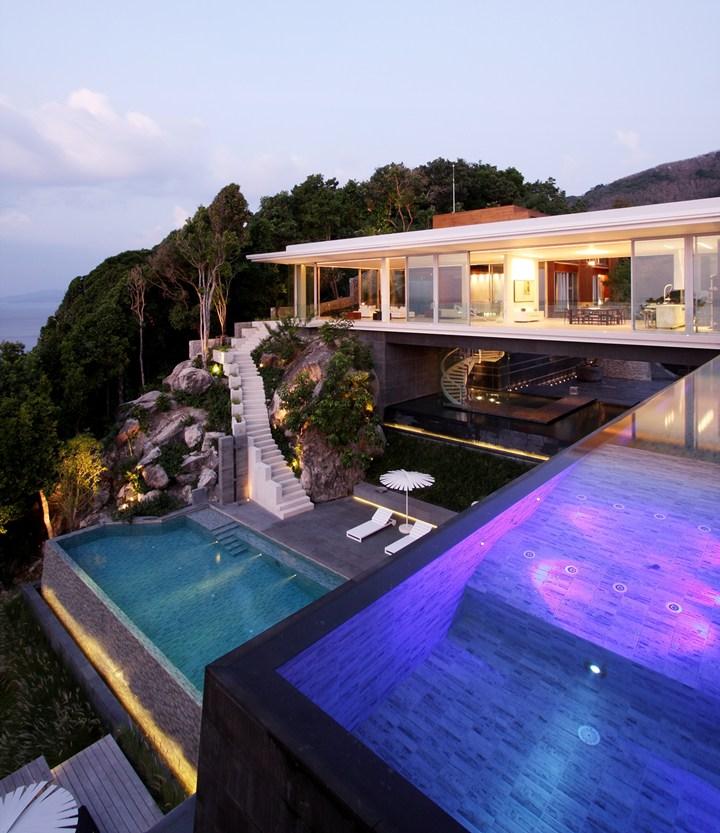 Gandiablasco for four unique and inspirational houses