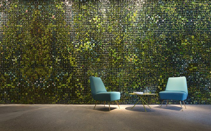 © Paola Lenti srl - ph. by S. Chimenti – Sciara wall by M. Ferrera