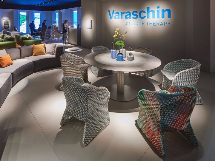 Le nuove sedute Varaschin firmate Philippe Bestenheider e Monica Armani