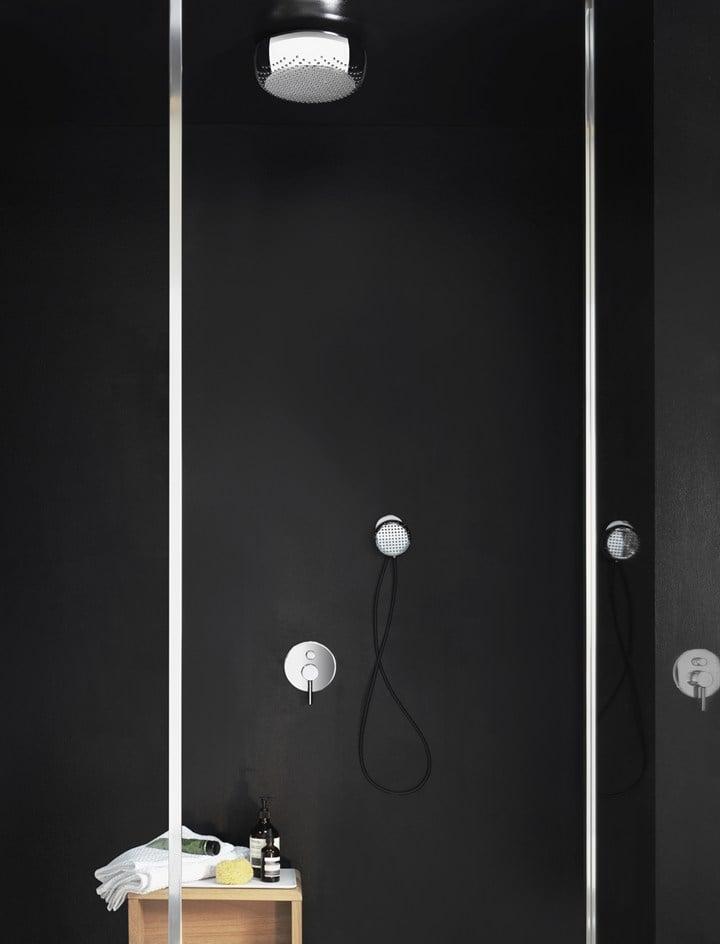 The new Zucchetti showerhead by Ludovica+Roberto Palomba