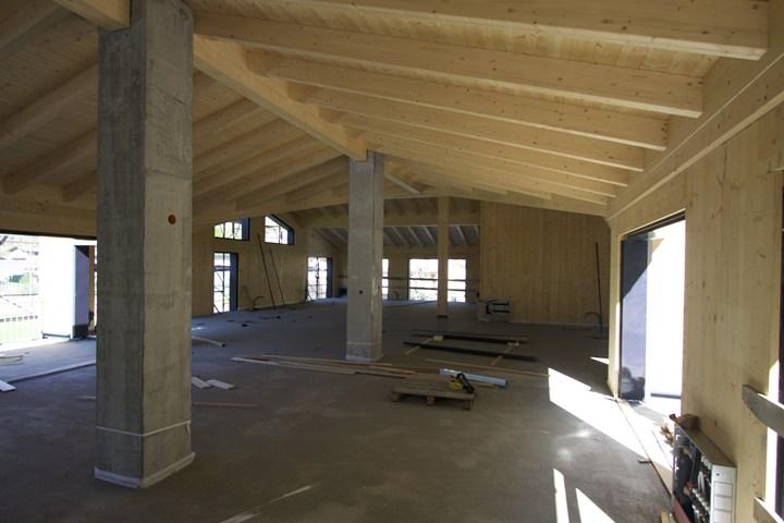 Isotec parete per la casa del rugby efficienza energetica e