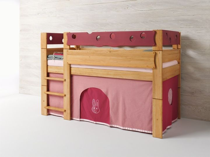 La cameretta in legno naturale a misura di bambino