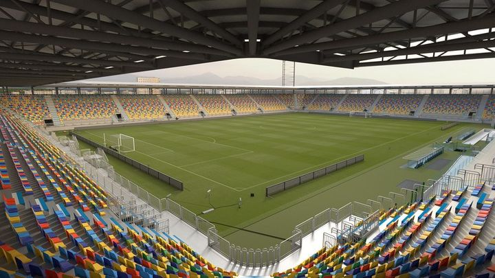 Gattoni Rubinetteria firma i bagni del nuovo stadio del Frosinone Calcio