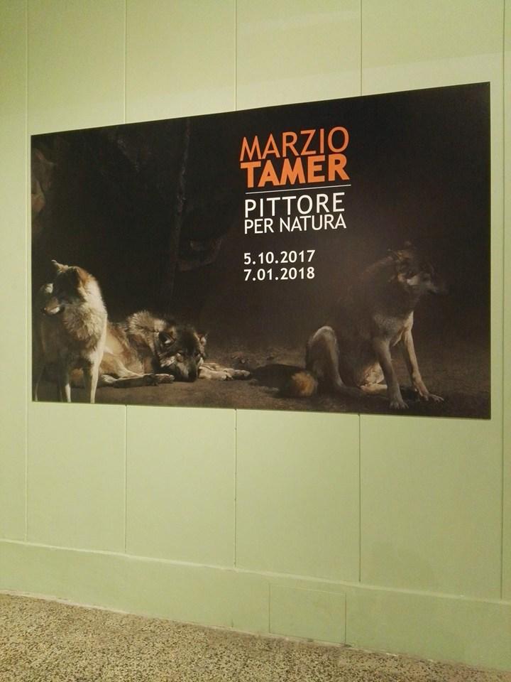 WILSON&MORRIS sponsor della mostra 'Marzio Tamer, pittore per natura'