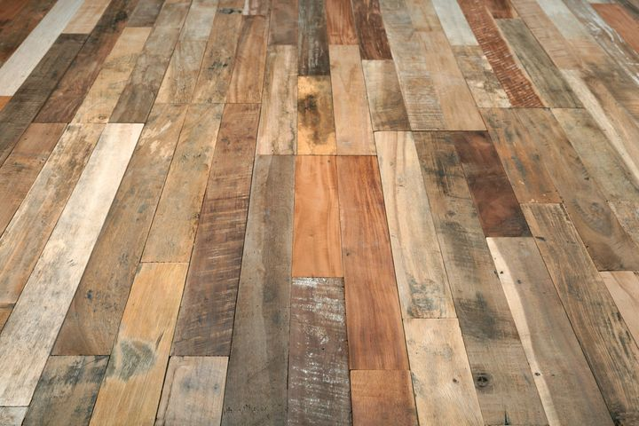 The reclaimed wood by Wonderwall Studios