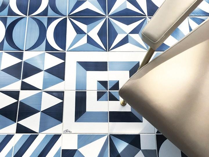 Blu ponti by ceramica francesco de maio