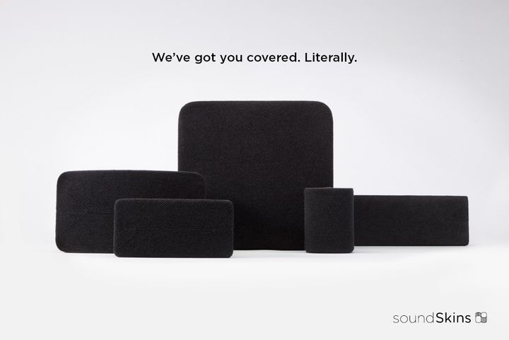 Soundskins: a beautiful design cover for your Sonos speaker