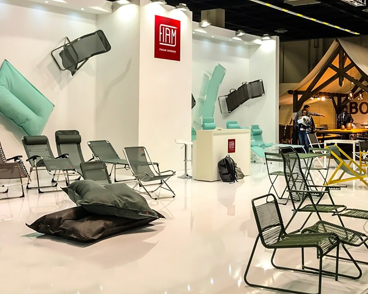 Fiam outdoor collections at Spoga