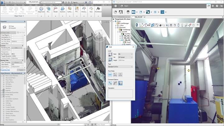 CAM2 PointSense 18.5, per la prima volta la modellazione di elementi strutturali Revit