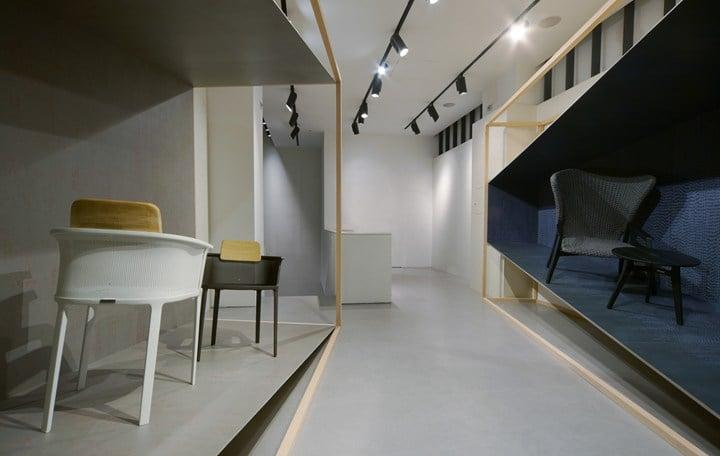 Patrick Norguet per Lea Ceramiche Showroom Milano