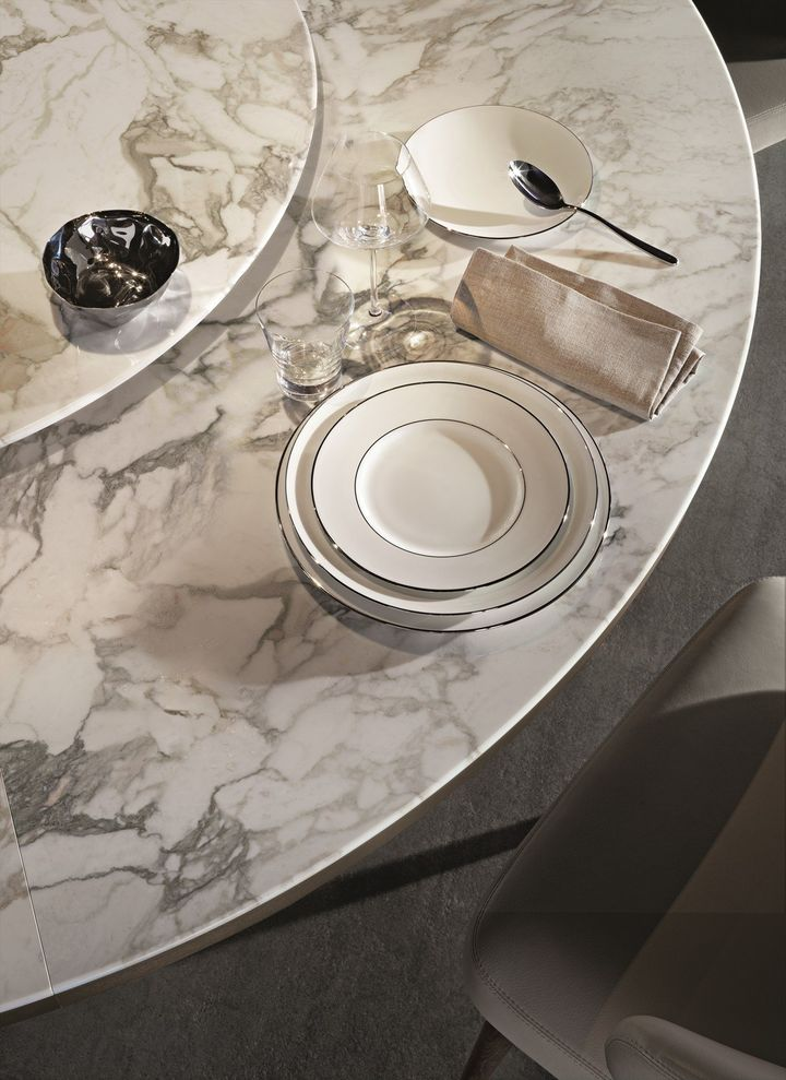Morgan Marble Bronzed Metal And Calacatta Marble
