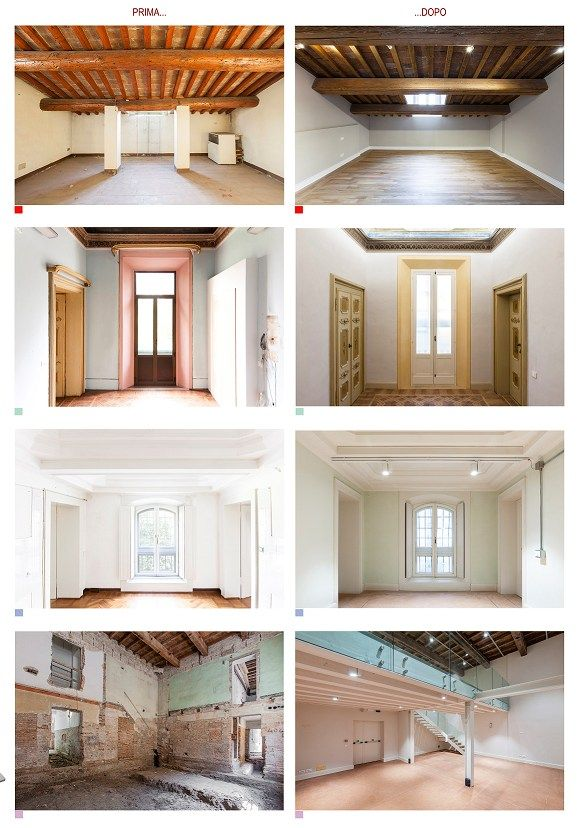Figura 6 - Fotografie del prima e del dopo i lavori - credits: Elena Romani
